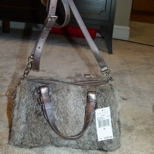Rabbit Fur Michael Kors Purse